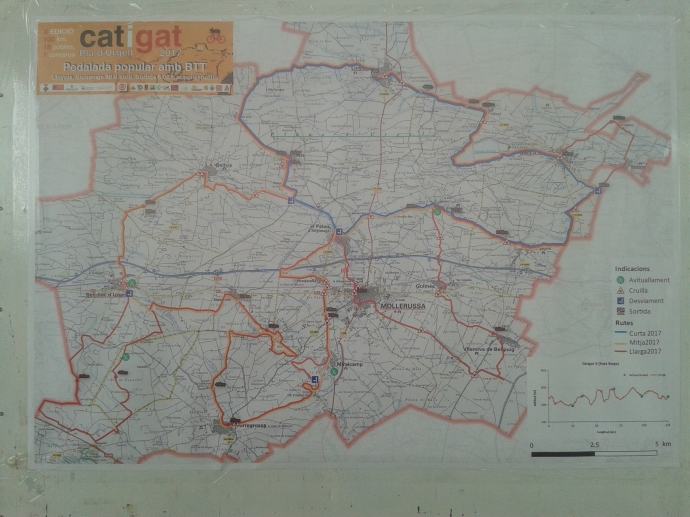 Mapa de la catigat, no deja pueblo sin visitar