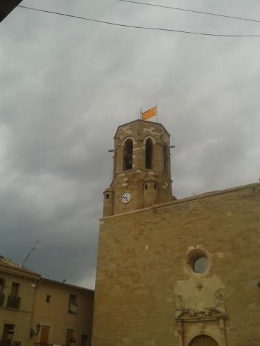 Campanario de Santa Maria, seu del Bisbat d'Urgell.