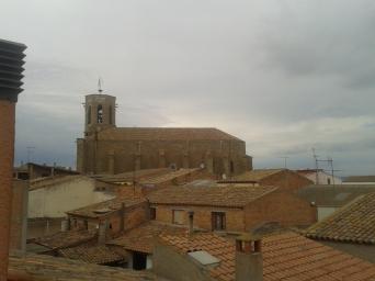 Iglesia de Santa Maria, desde la Guspira
