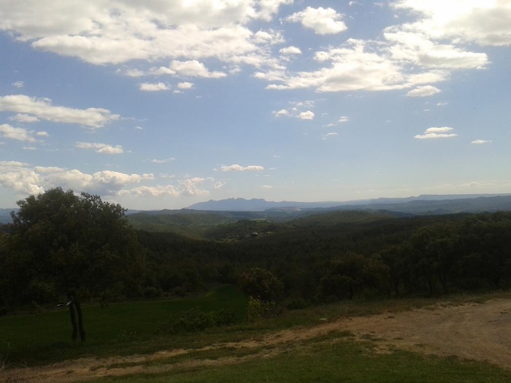 Vistas de la Muntanya de Montserrat y la Vall del Llobregat
