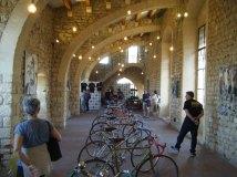 Sábado, día de exposición y charlas sobre la bici clásica, en Castell de St. Martí Sarroca