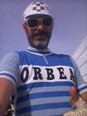 Gracias Jimmy! Por tener el detalle de regalarme el maillot Orbea, es muy guapo!