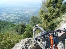 Vistas de la Plana de Vic desde Bellmunt, Mirador de Catalunya.