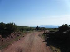 Paso por el Pla de la Calma, es una zona muy especial y de gran belleza, con unas vistas excepcionales de todo el entorno del Montseny.