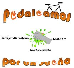 Detalle de la camiseta #MachacarAlBicho