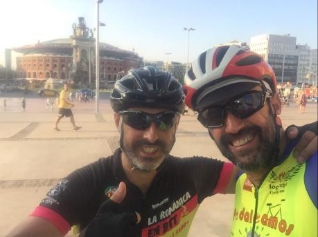 Un gran momento para recordar siempre, junto a Ramón, un enorme ciclista, buen amigo y mejor persona. Enhorabuena!!