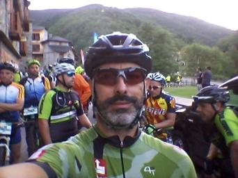 Tras nuestros pedales quedaron el Pirineo, Vallter, el nacimiento del Ter...