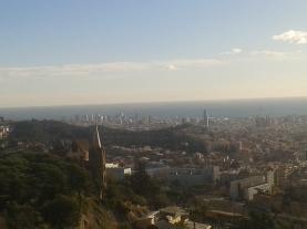 Vista de Diagonal Mar y Torre Agbar