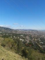 Vista de BCN desde el pié del Observatori Fabra