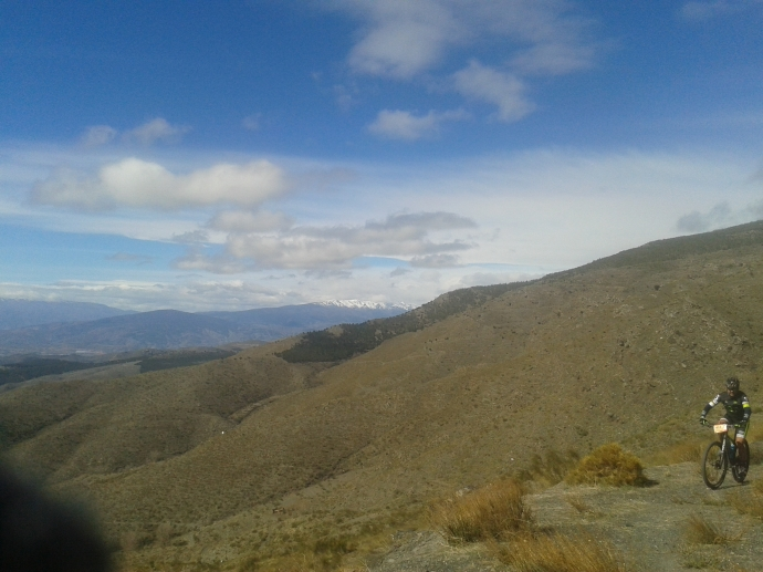 Vista de Sierra Nevada desde la cota 1800 msnm