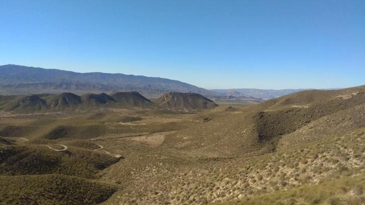 Paisaje de las pistas recorridas desde El Peral