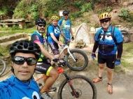 Font de Can roure (Joaquin, Txiki, Luis, Miguel y Leo)