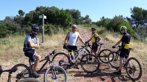 Los riders van coronando: Jose, Kiko, Jorge... faltaba...