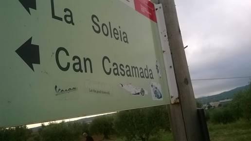 El punto de inicio estaba en Can Casamada, en Castellar del Vallès