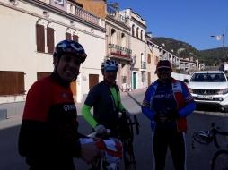 Cuarto control: Castellolí. Aún nos queda Montserrat y Vacarisses.
