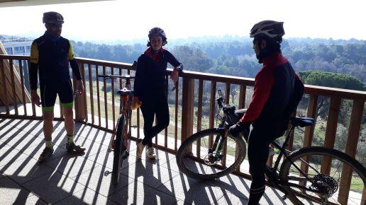 La recompensa por finalizar el reto, las mejores vistas de Collserola des del Vallès