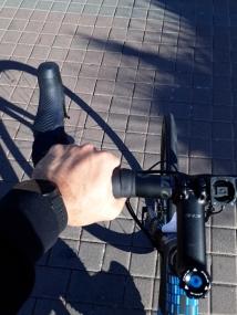 Primer acople... que gozada de pedales.