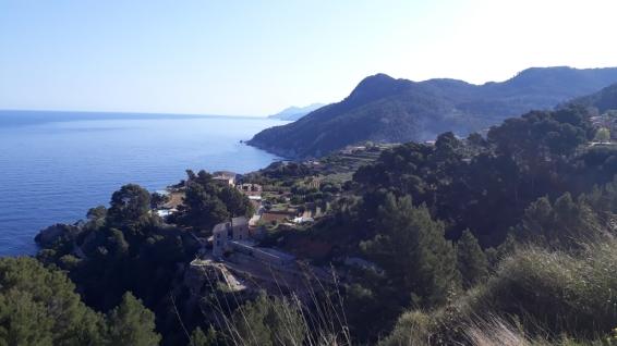 Primeros 100 kms, Serra de Tramuntana, 2500 m D+, todo un reto a superar.