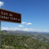 Vistas de la Conca de Tremp desde el Coll de Montllobar